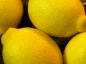 homegrown lemons